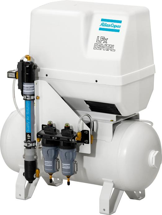 mantenimiento a los compresores dentales de aire