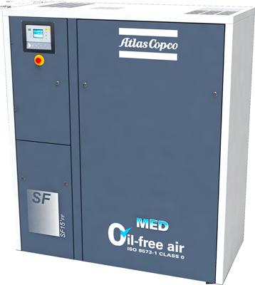 Compresores Industriales de aire sin aceite